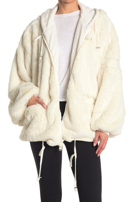 Image of Free People Take A Moment Faux Fur Jacket