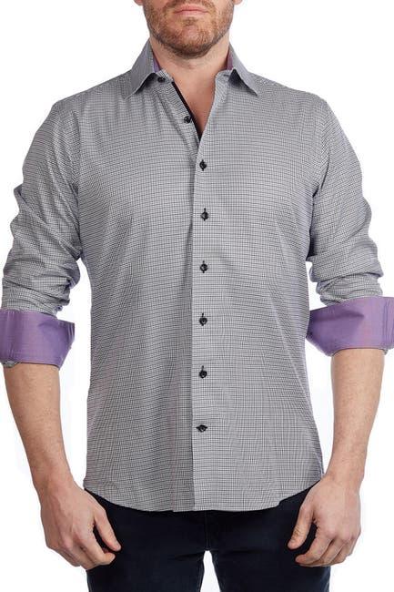 Image of Levinas Check Contemporary Fit Shirt