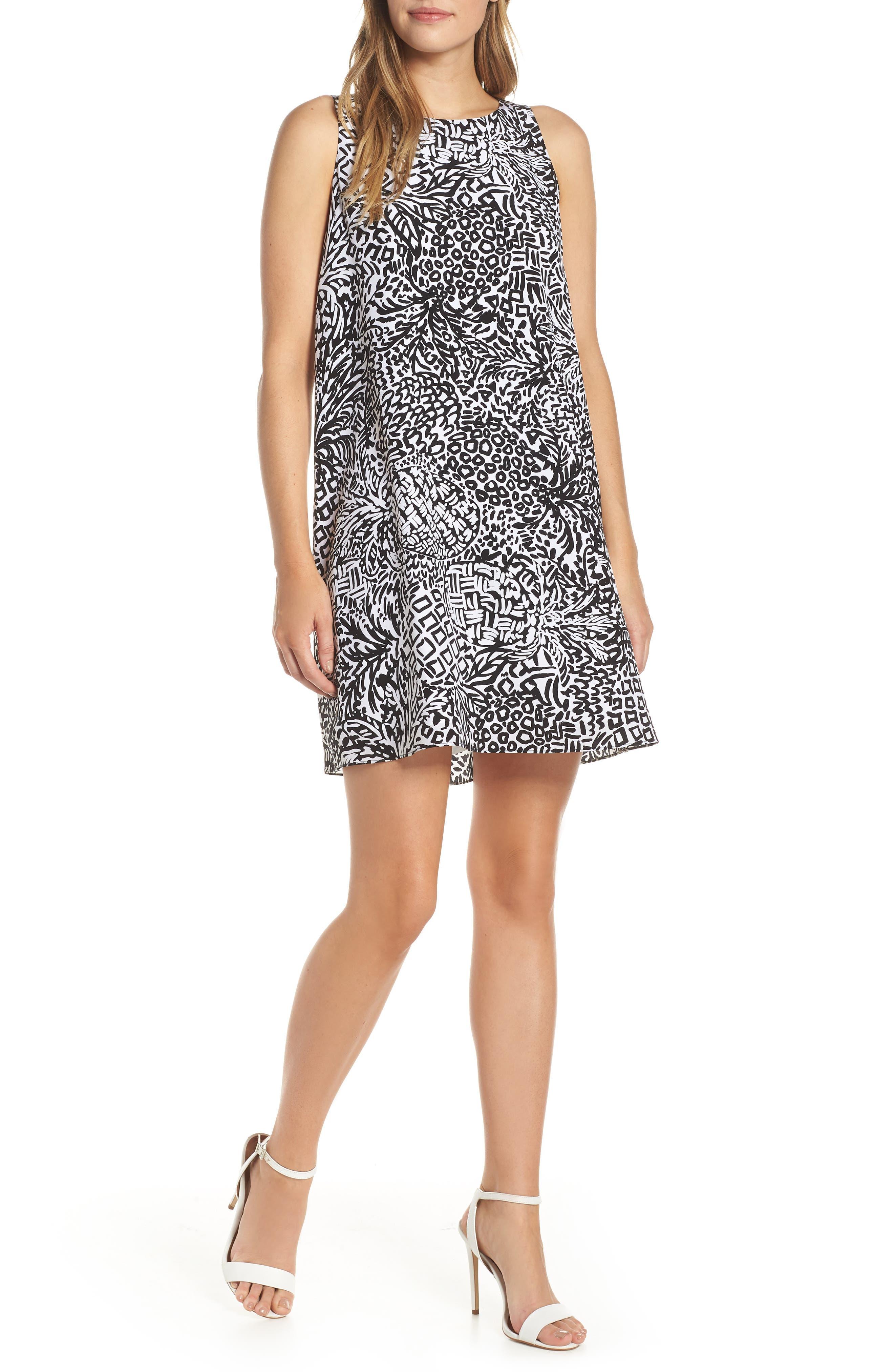 Lilly Pulitzer Jackie Sleeveless Silk Shift Dress