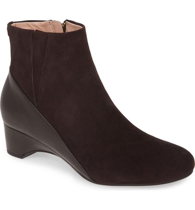 TARYN ROSE Babson Bootie, Main, color, BARK SUEDE