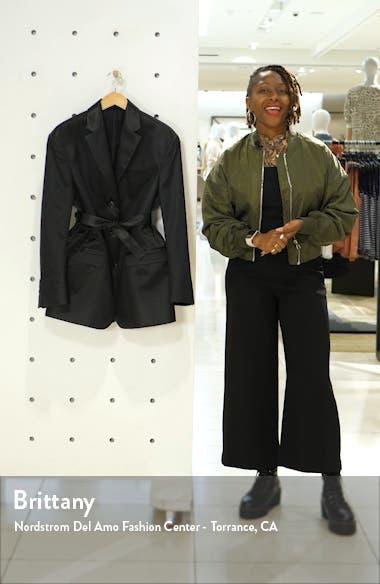 Jill Shiny Cotton Blend Blazer, sales video thumbnail