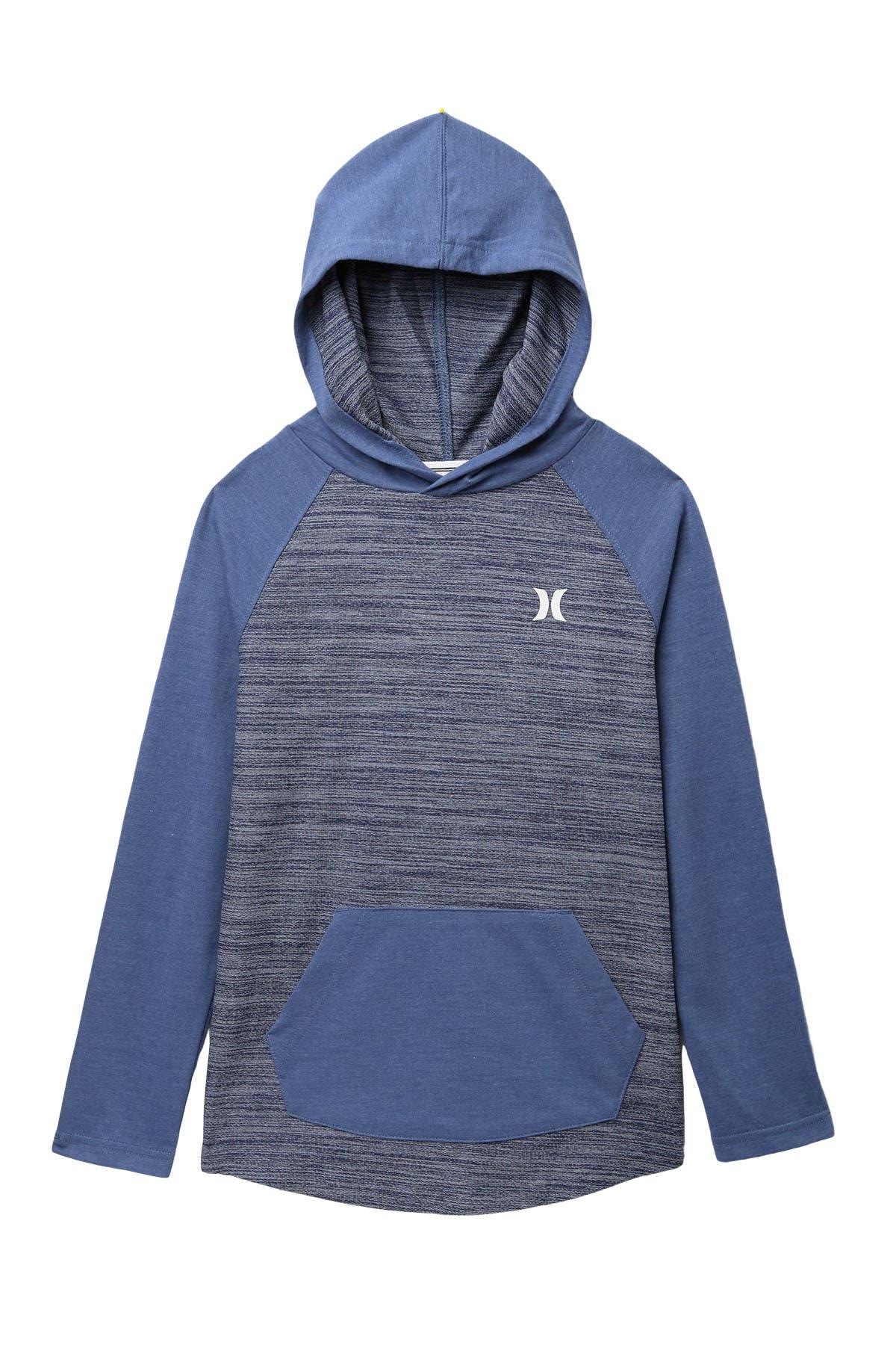 Image of Hurley Melange Knit Pullover Top