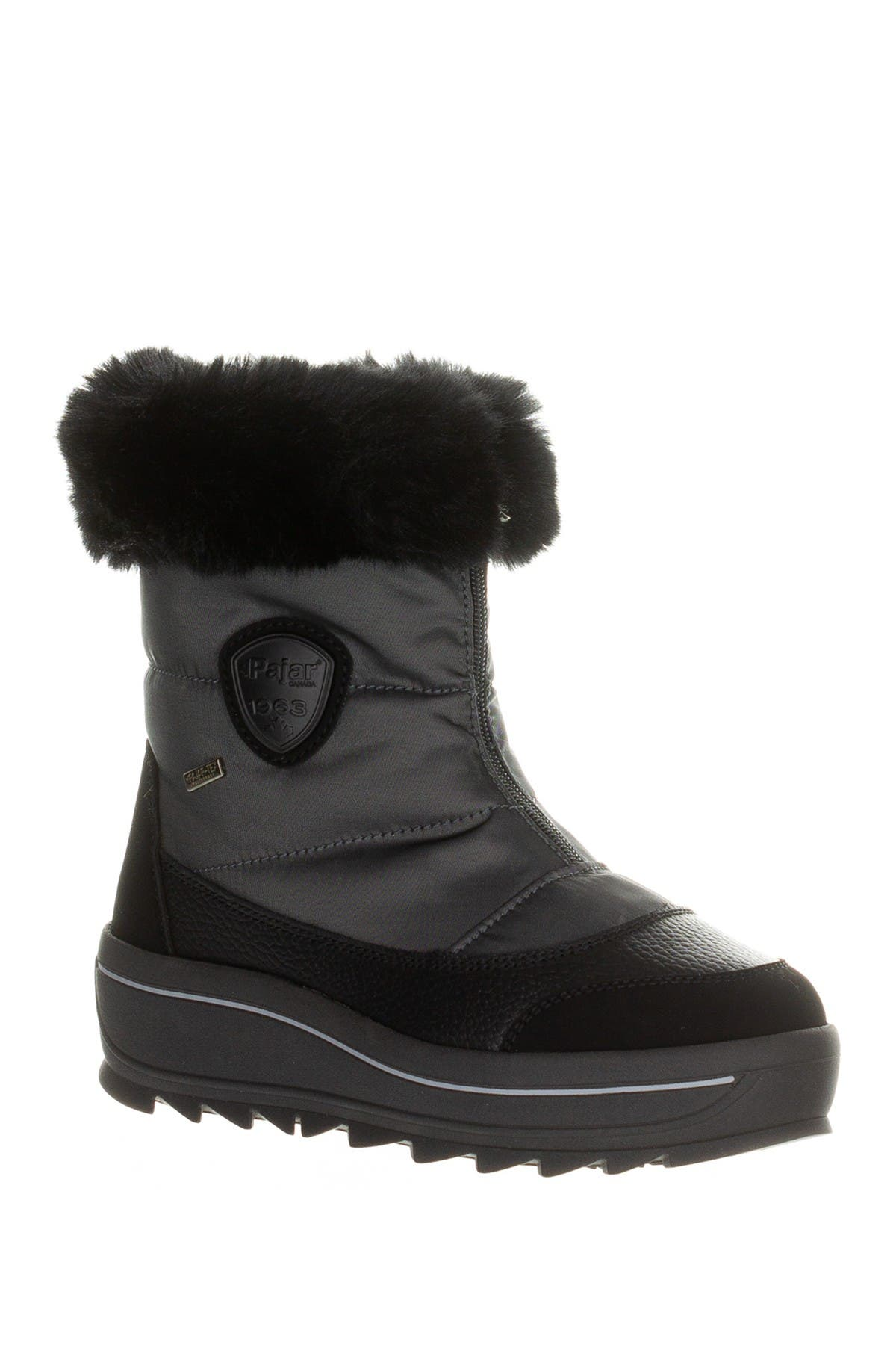Temoen Faux Fur Lined Waterproof Boot
