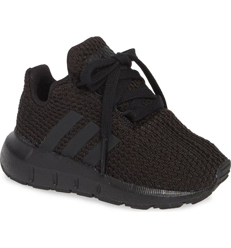 ADIDAS Swift Run Sneaker, Main, color, CORE BLACK/ CORE BLACK/ BLACK