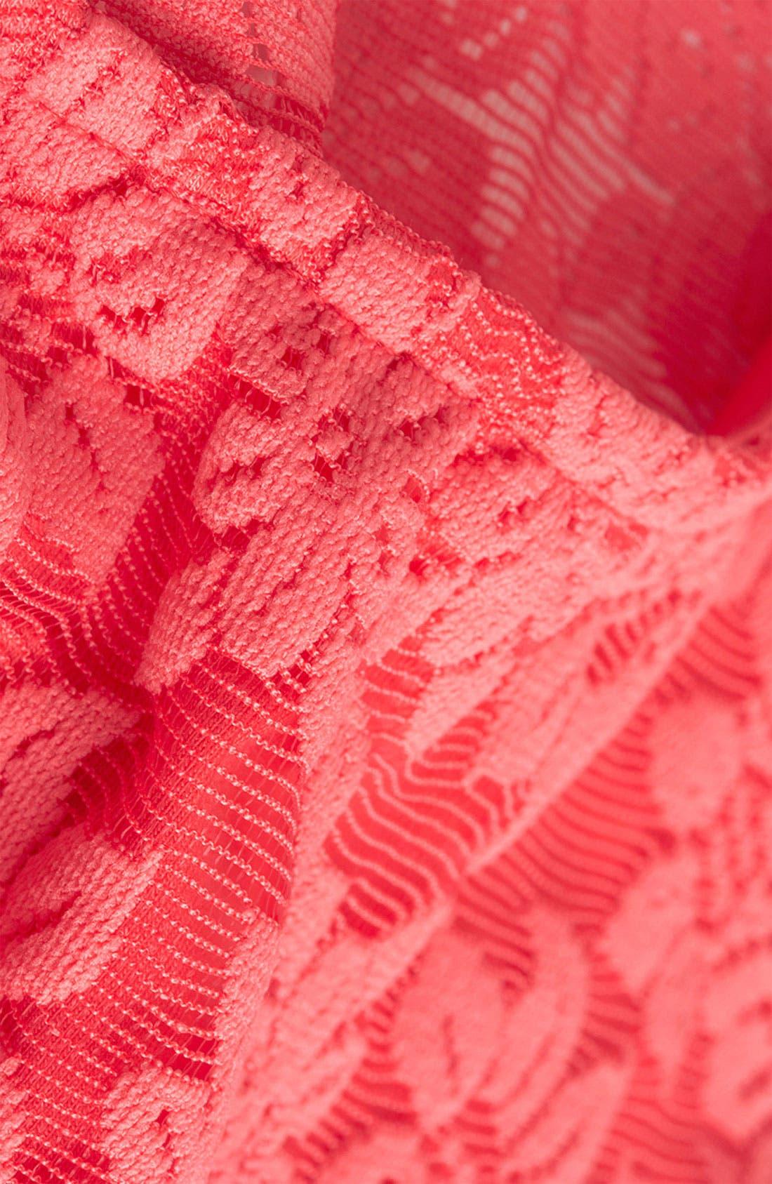 ,                             Lace Crop Top,                             Alternate thumbnail 9, color,                             650