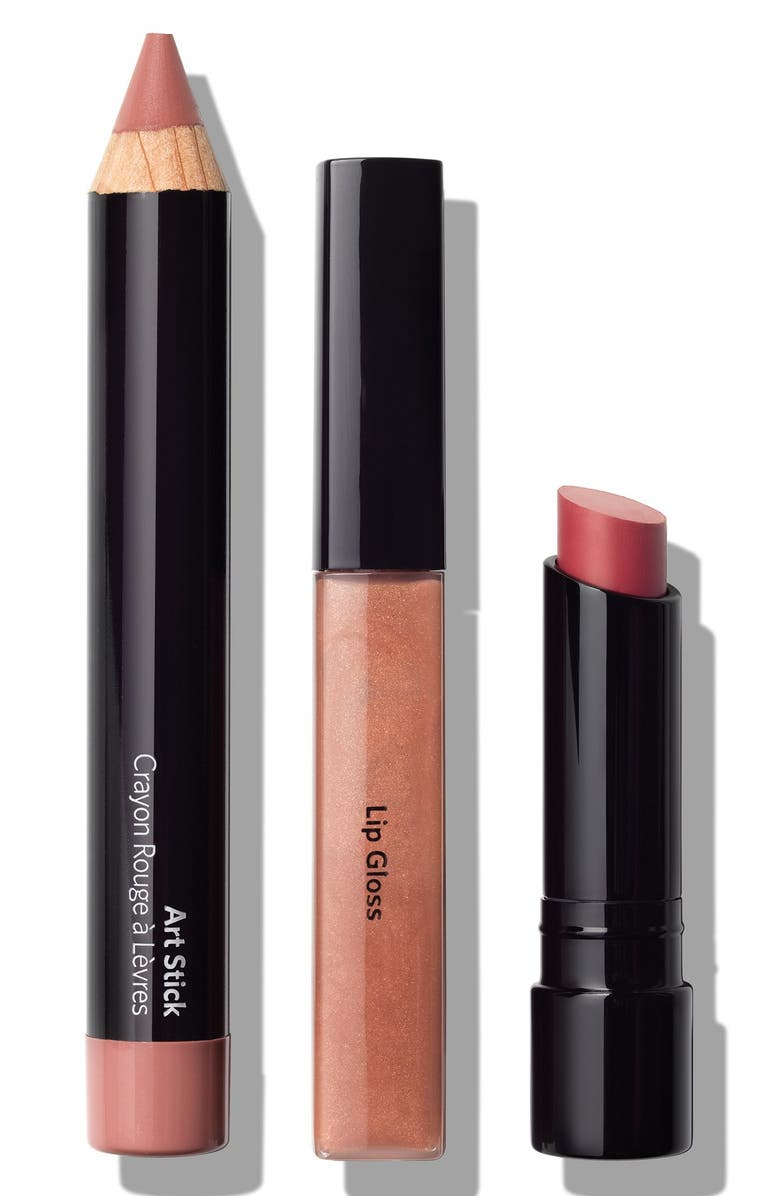 BOBBI BROWN 'Bobbi on Trend - Nude Lips' Set, Main, color, 250