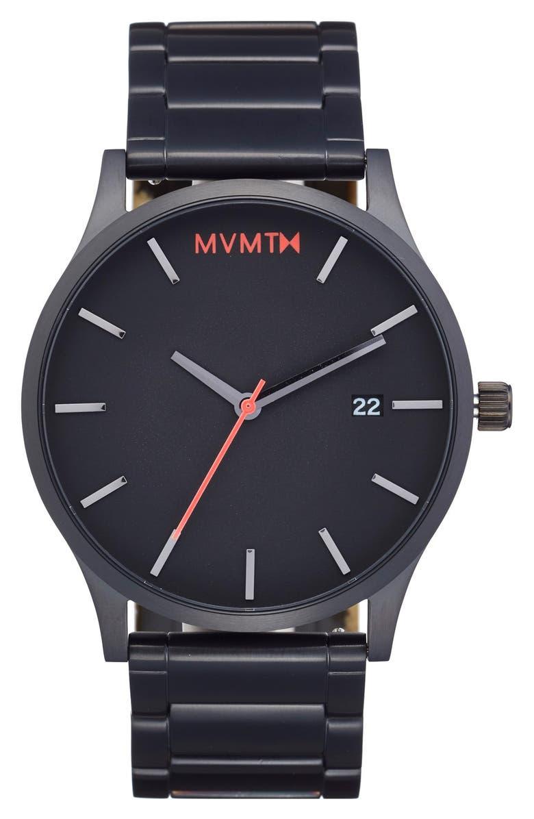 MVMT Bracelet Watch, 45mm, Main, color, 001