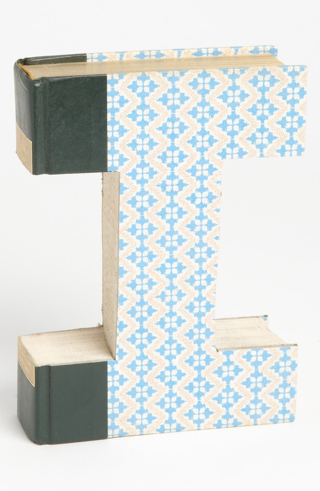 ,                             'One of a Kind Letter' Hand-Carved Recycled Book Shelf Art,                             Main thumbnail 41, color,                             208