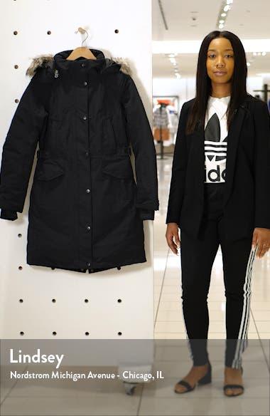 Tremaya Waterproof Down Parka with Faux Fur Trim, sales video thumbnail