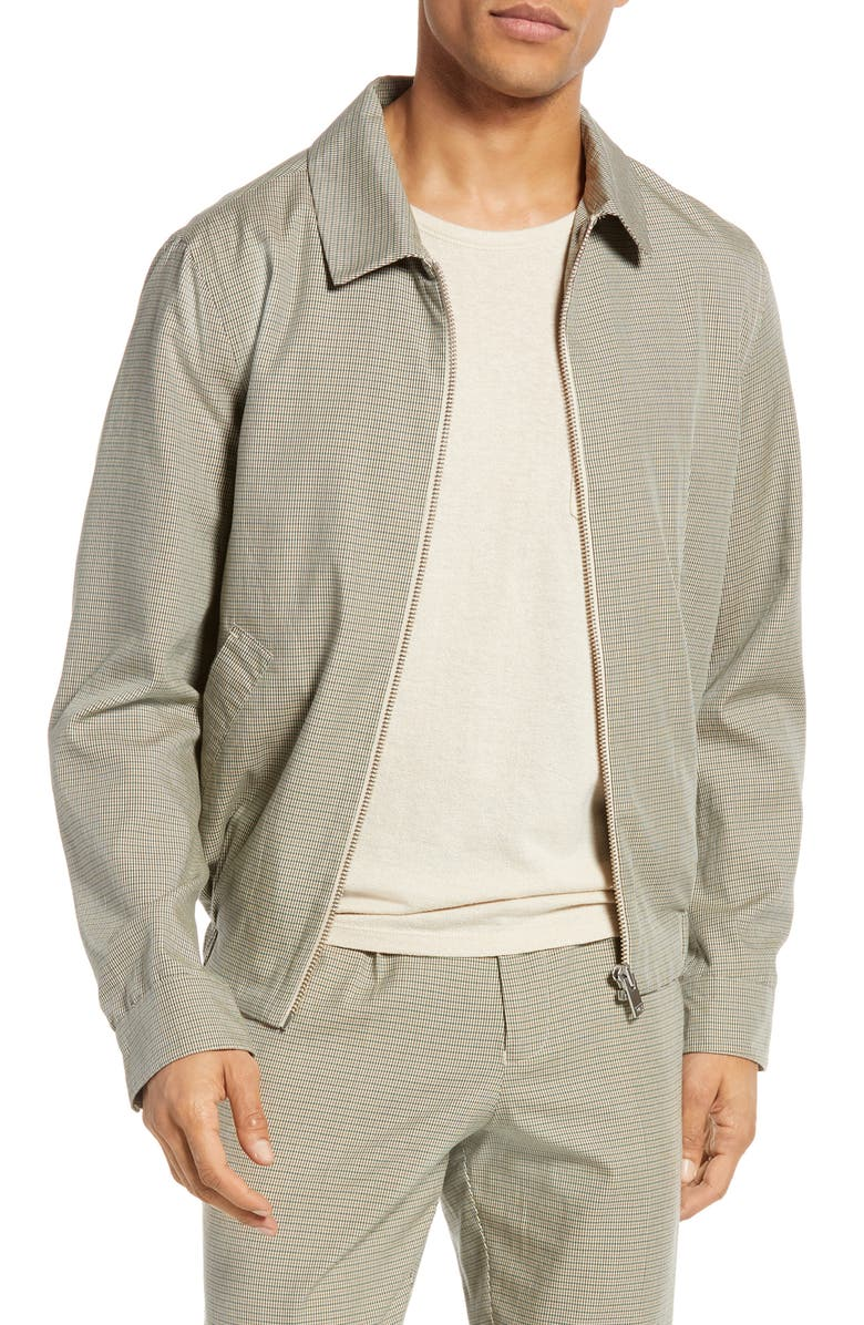 SELECTED HOMME Caleb Microcheck Jacket, Main, color, 054