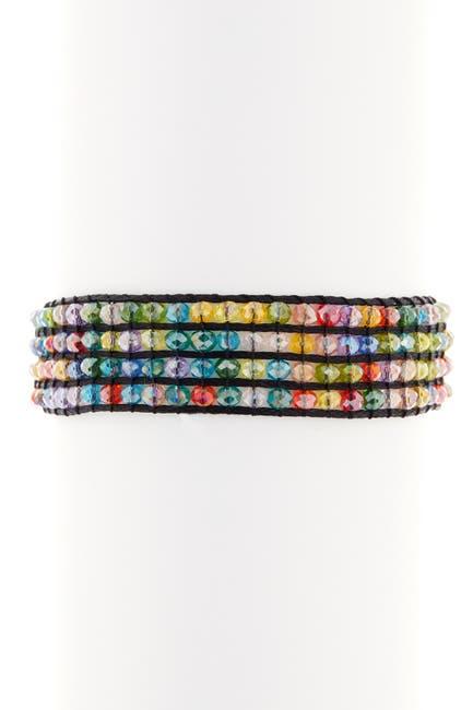 Image of AYOUNIK Crystal Beaded Adjustable Bracelet