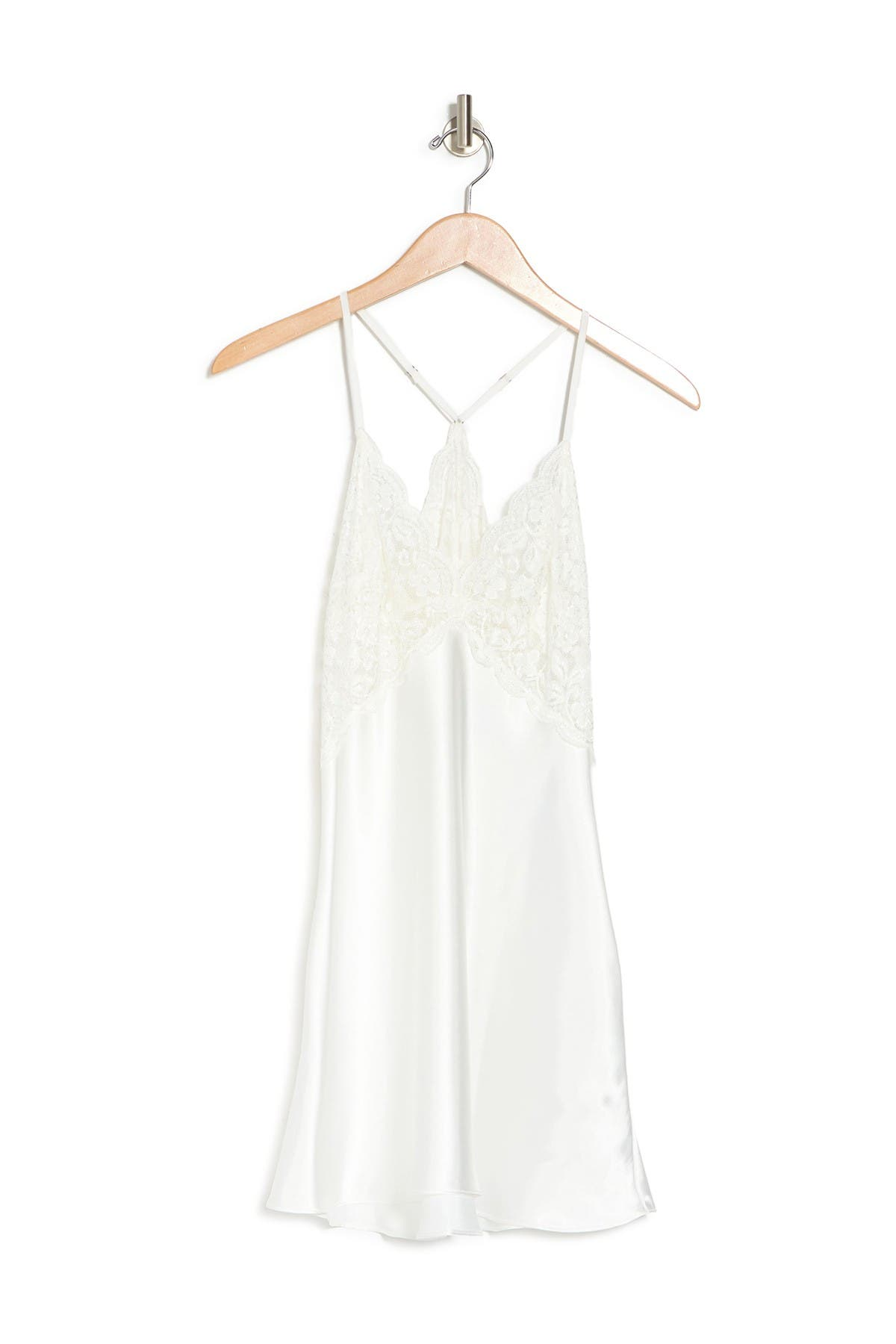 In Bloom By Jonquil Tops WORDS OF LOVE SATIN & LACE CHEMISE