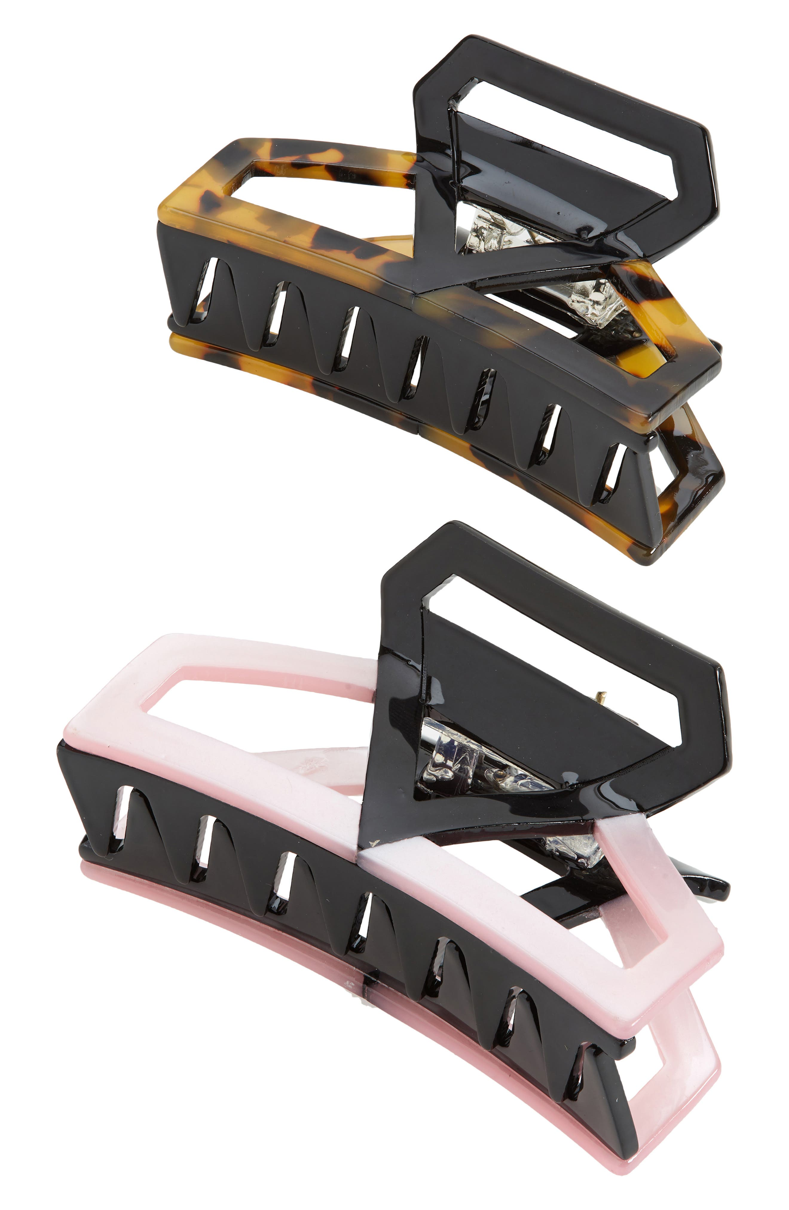 Assorted 2-Pack Jaw Clips