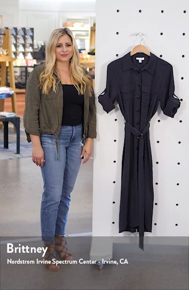 Utility Midi Shirtdress, sales video thumbnail
