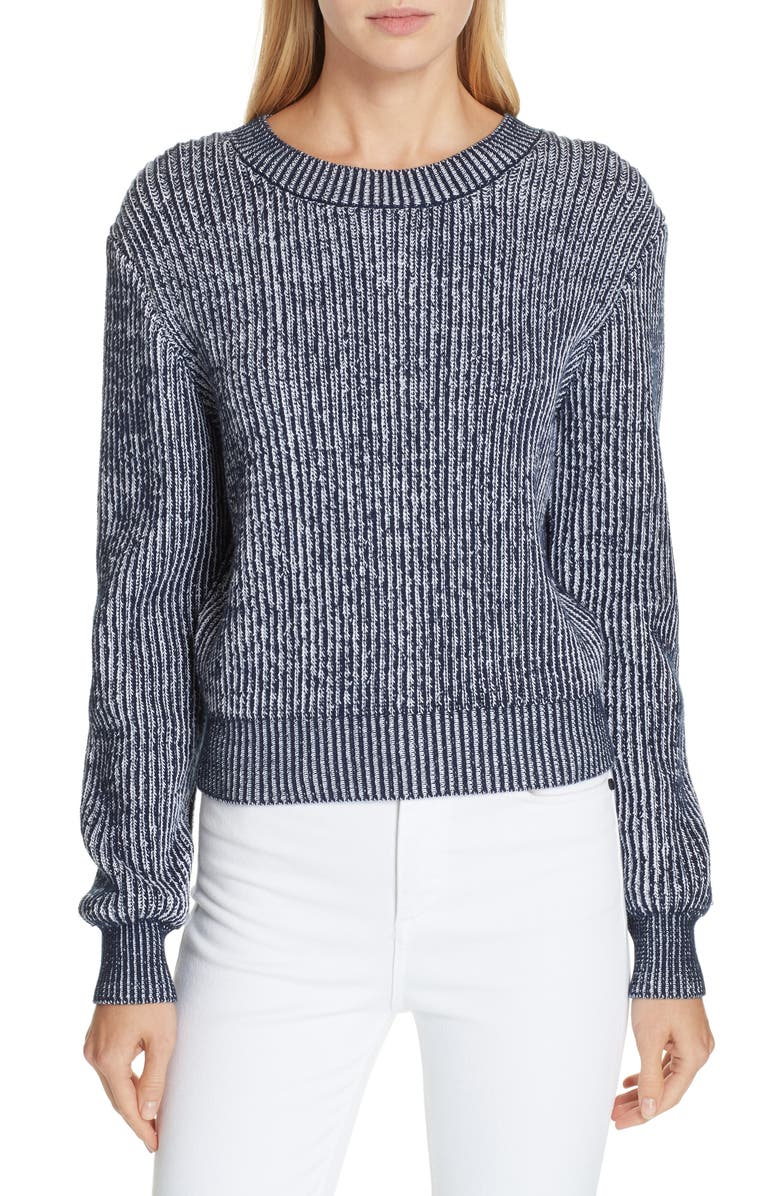 51c3253054 Milly Plaited Rib Sweater | Nordstrom