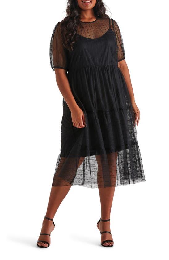 Estelle Midi dresses CAGED IN MIDI DRESS