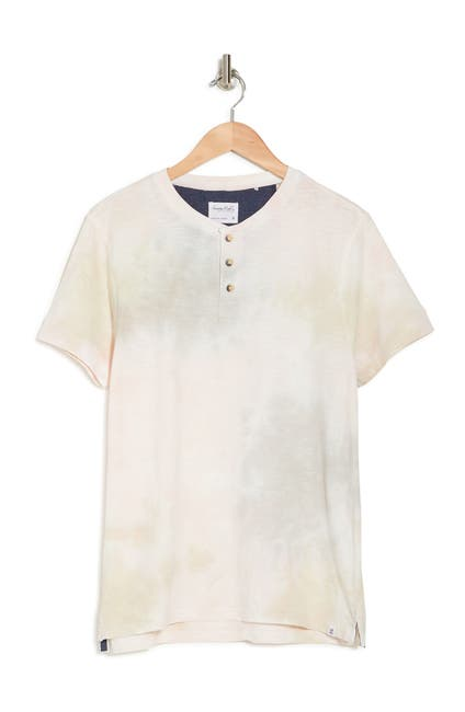 Image of Sovereign Code Press Short Sleeve Henley