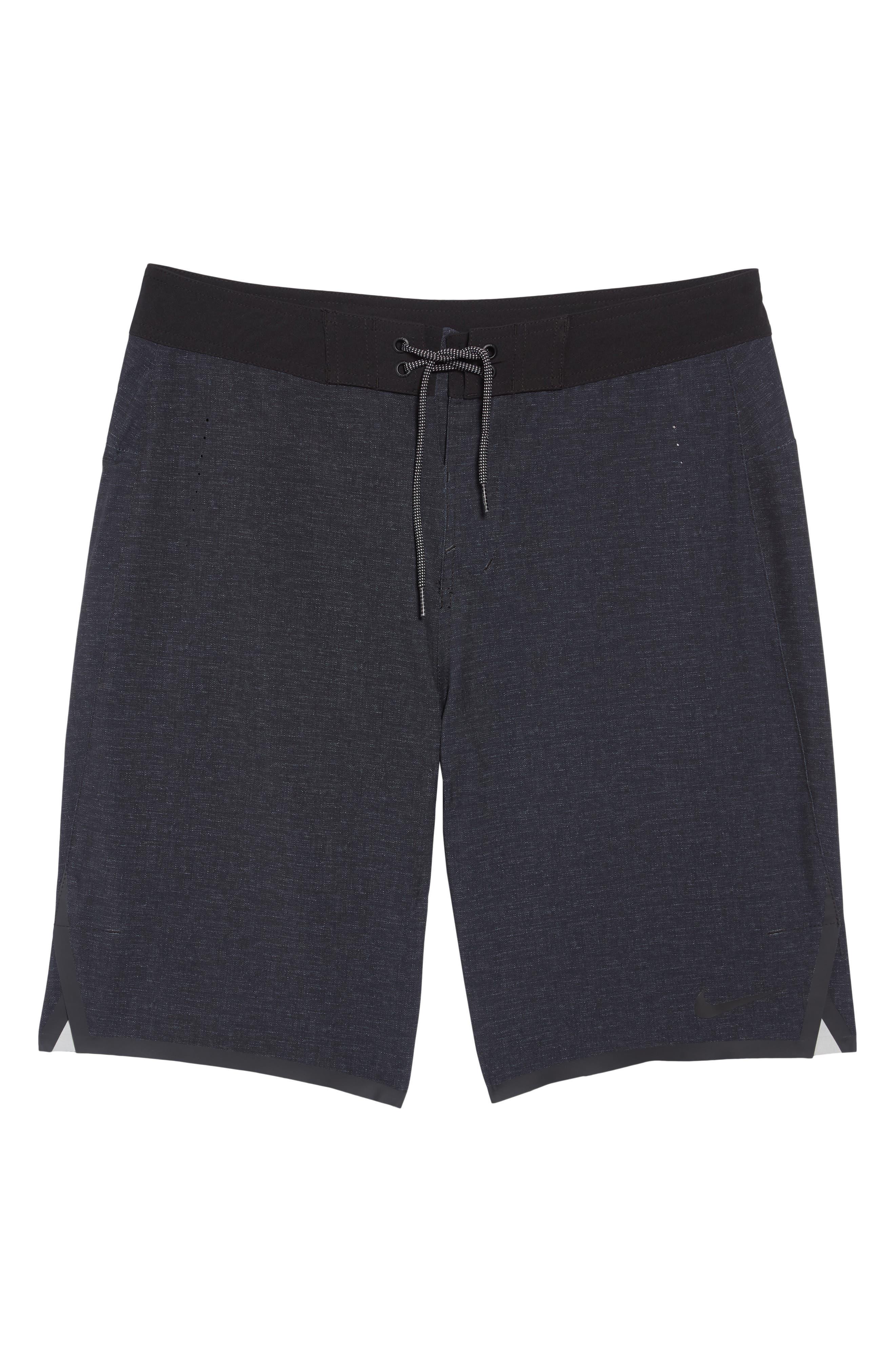 ,                             Blade Board Shorts,                             Alternate thumbnail 6, color,                             BLACK