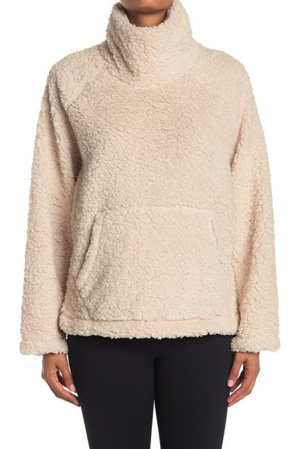 Image of Z By Zella Carla Faux Shearling Pullover