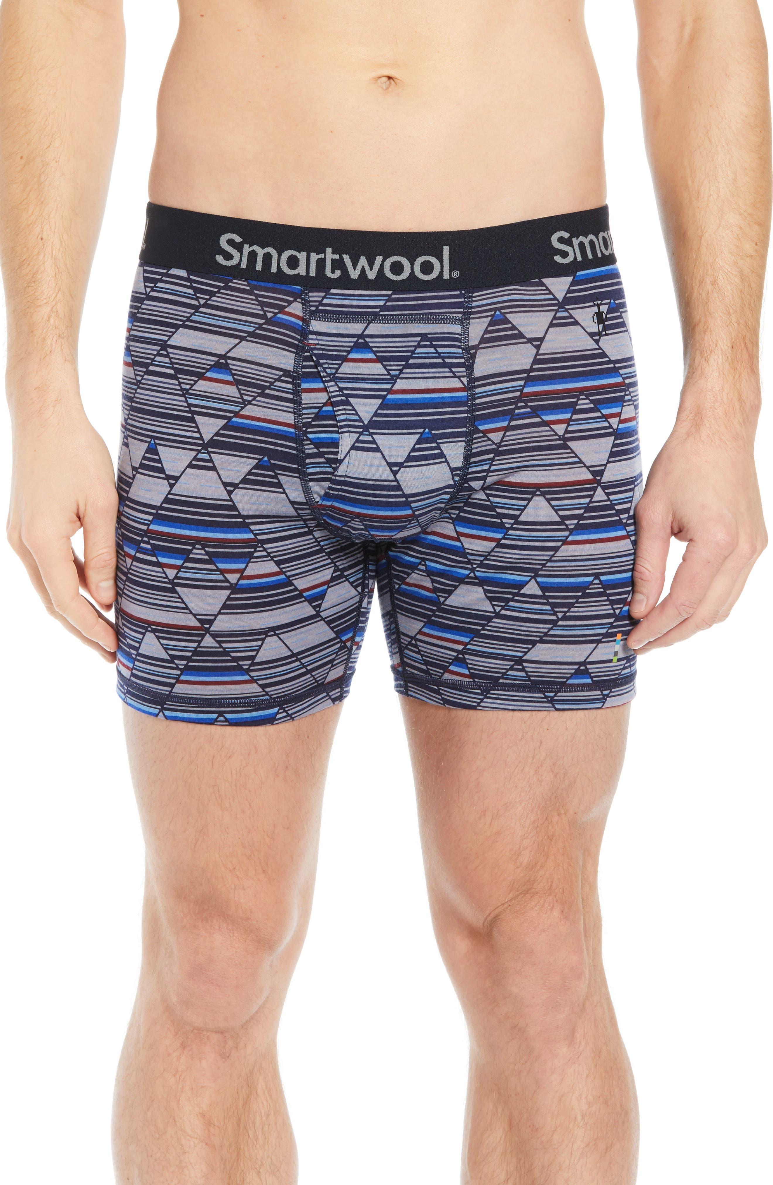 Smartwool Merino 150 Wool Blend Boxer Briefs, Blue