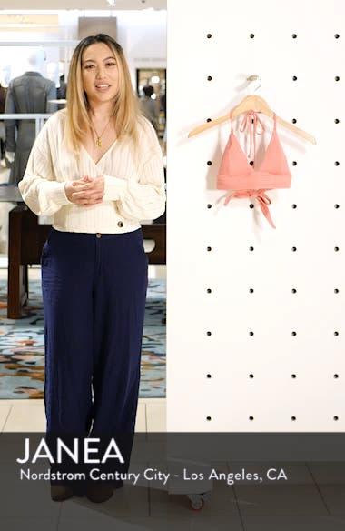 Lily Halter Bikini Top, sales video thumbnail