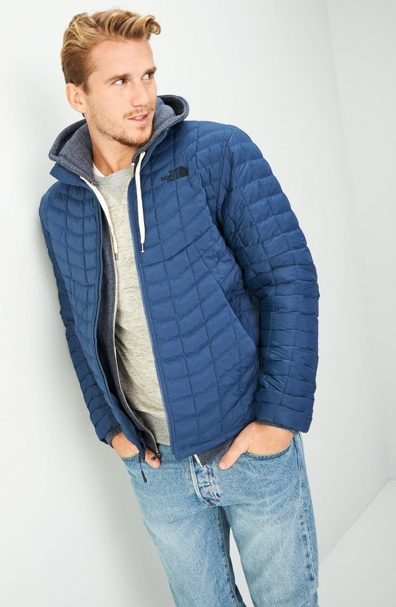 THE NORTH FACE Packable Stretch ThermoBall<sup>™</sup> PrimaLoft<sup>®</sup> Jacket, Main, color, 009