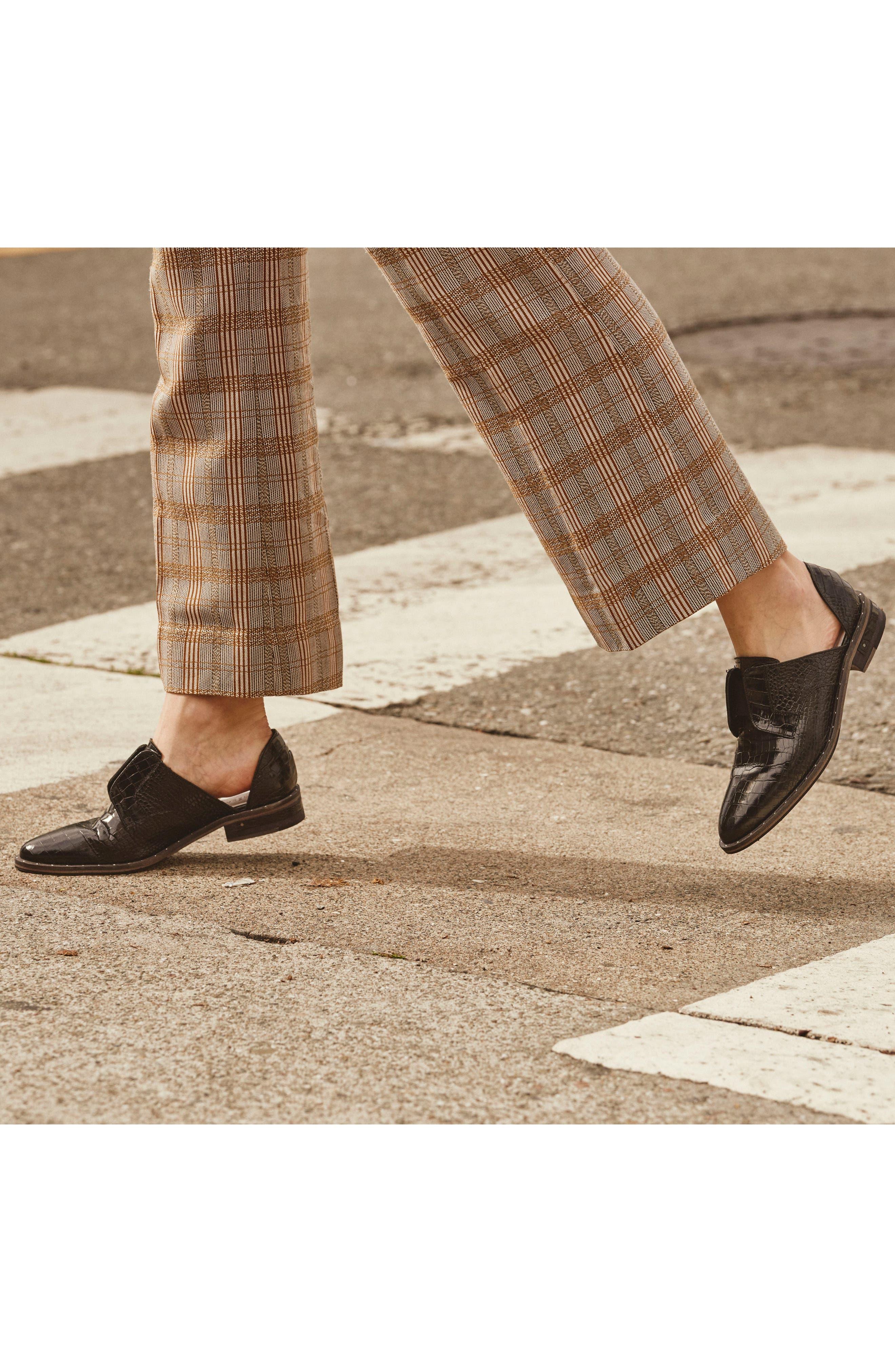 ,                             Wear d'Orsay Laceless Derby,                             Alternate thumbnail 8, color,                             BLACK CROC