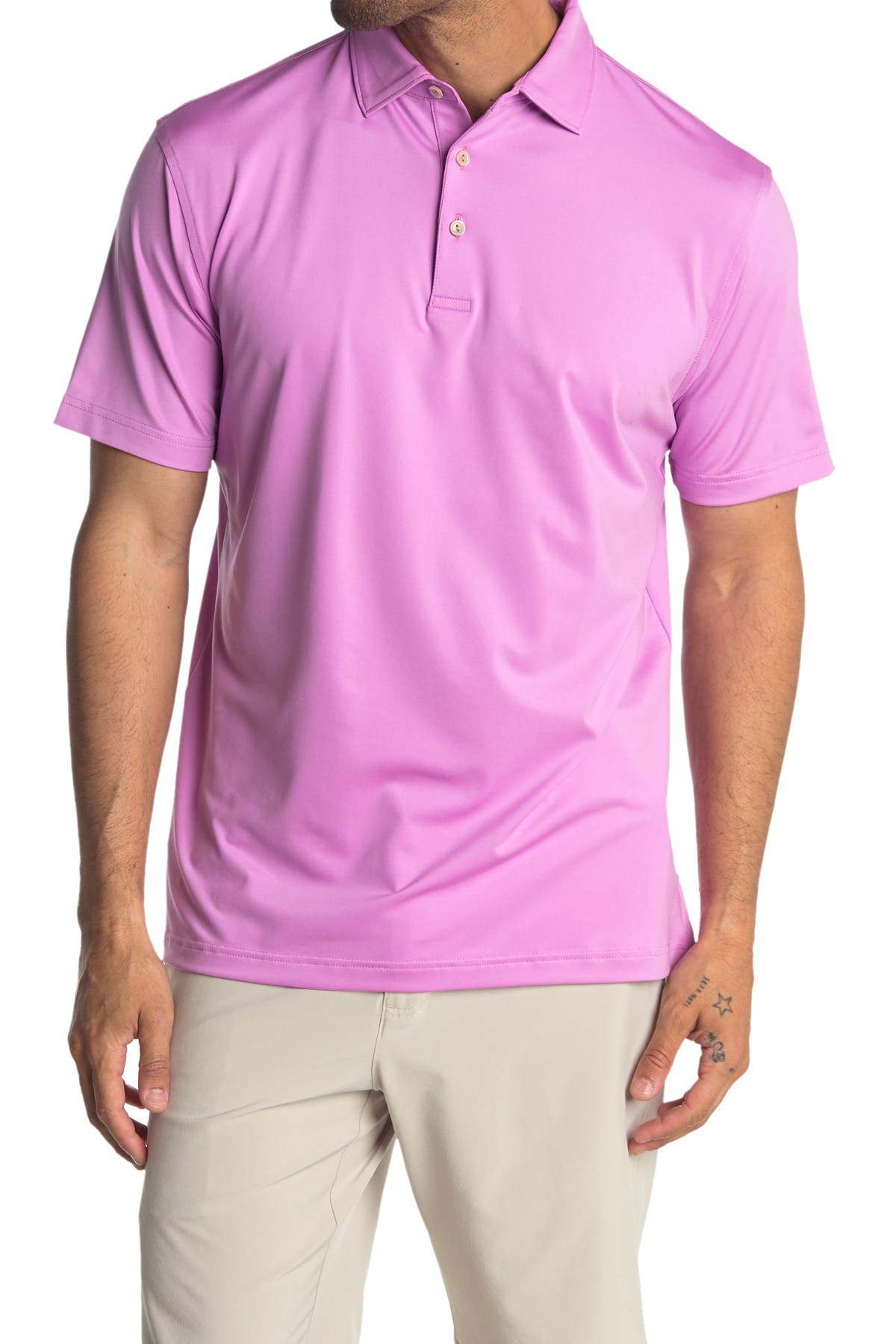 Image of Peter Millar Short Sleeve Polo Shirt