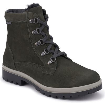 Mephisto Zorah Lace-Up Boot- Grey