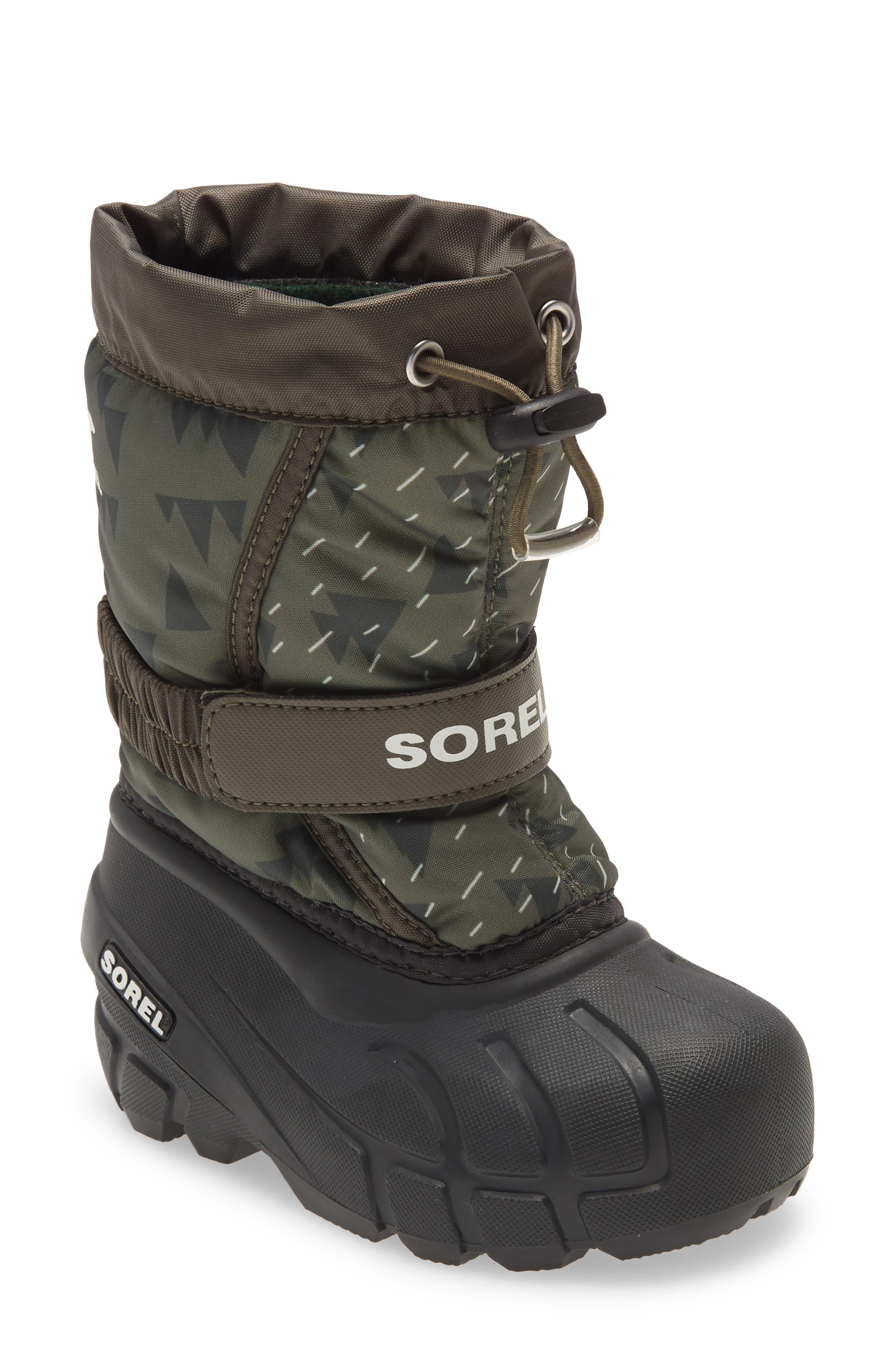 SOREL Flurry Weather Resistant Snow Boot (Toddler, Little Kid & Big Kid)   Nordstrom
