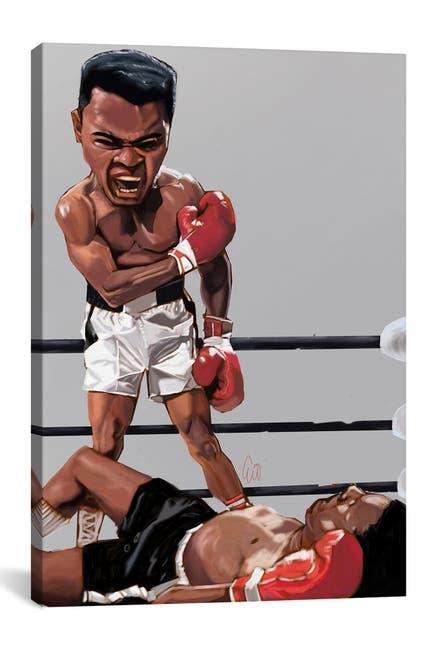 Image of iCanvas Ali Rumble by Evan Williams