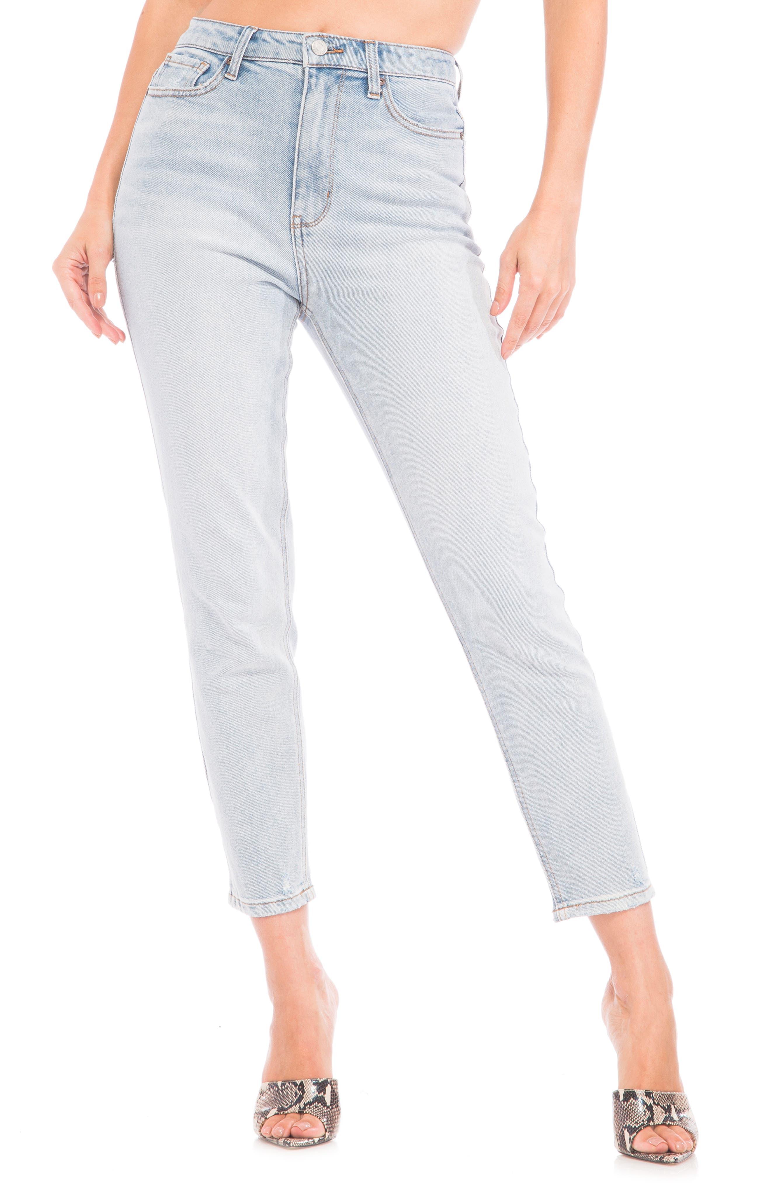 Ferris High Waist Slim Mom Jeans