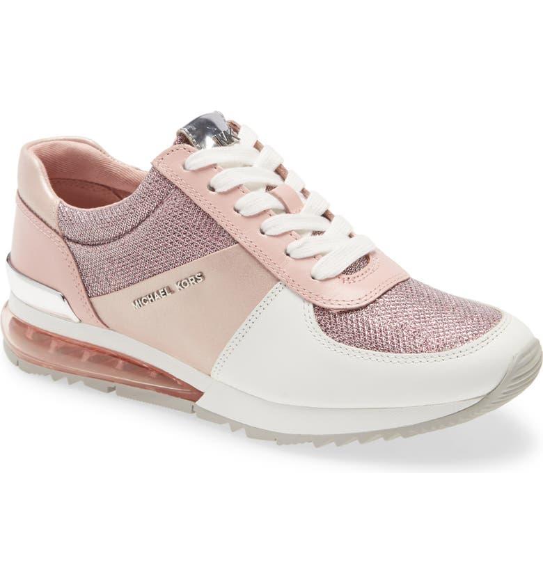 MICHAEL MICHAEL KORS 'Allie' Sneaker, Main, color, SMOKEY ROSE