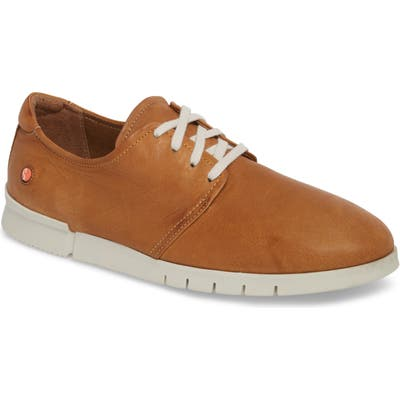 Softinos By Fly London Cap Low Top Sneaker, Brown