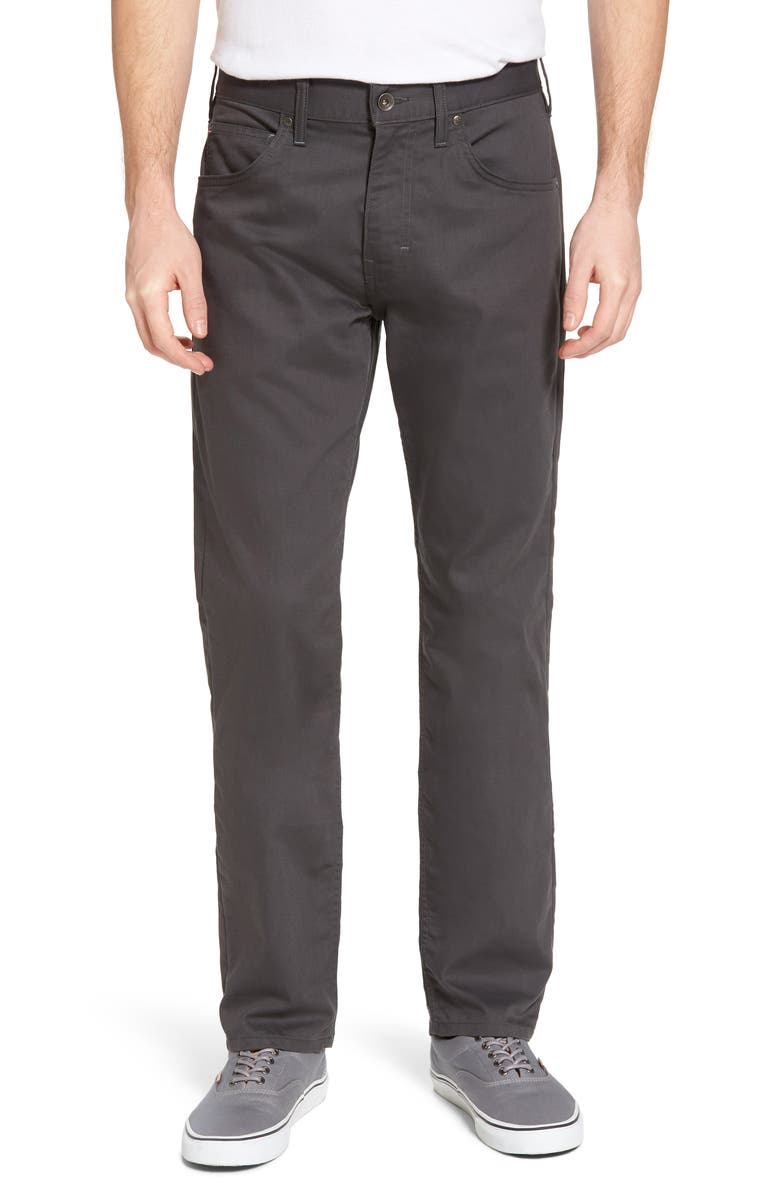 PATAGONIA M's Performance Twill Jeans, Main, color, FORGE GREY