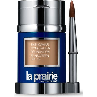 La Prairie Skin Caviar Concealer + Foundation Sunscreen Spf 15 - Honey Beige