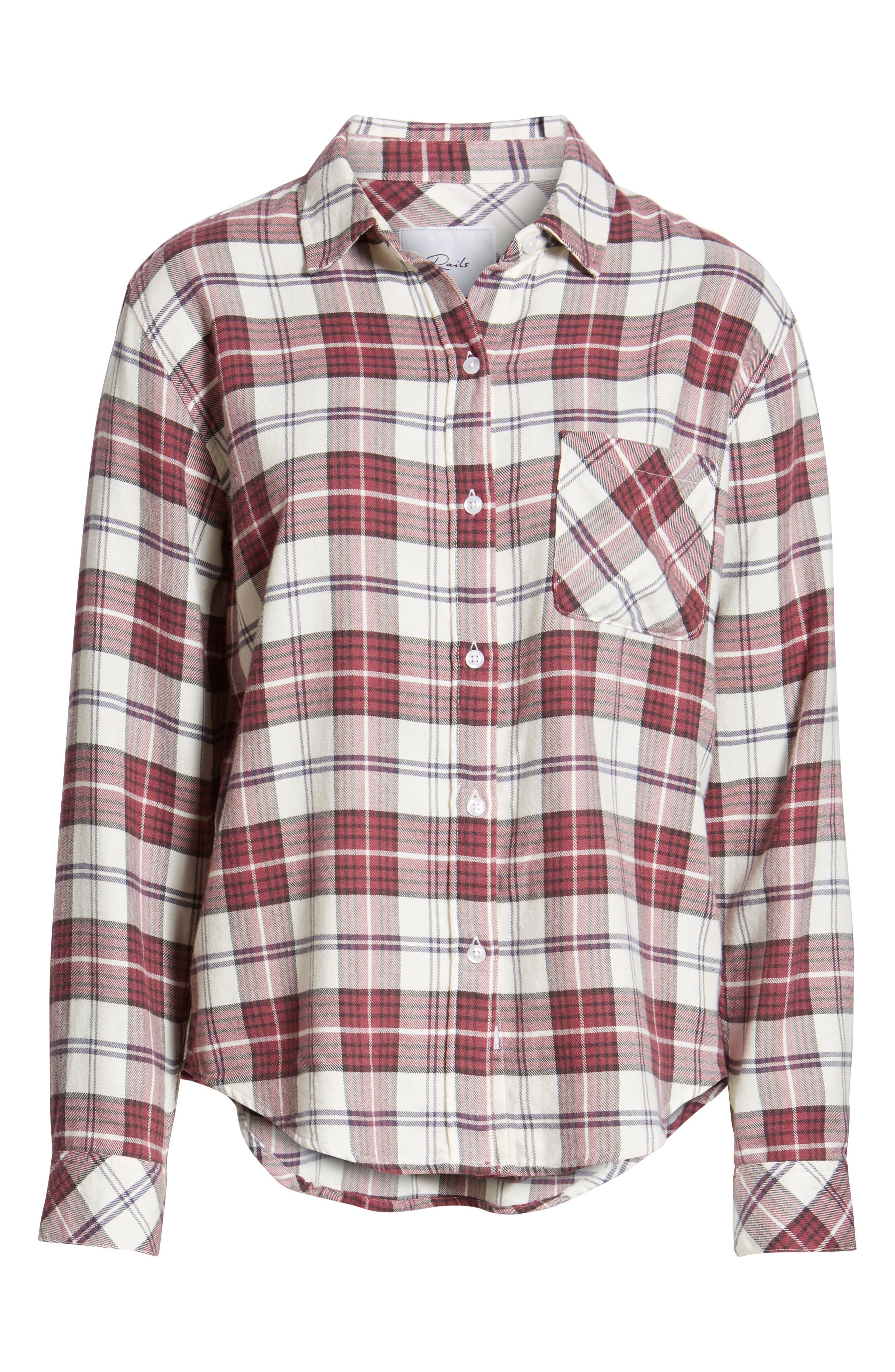 ,                             Hunter Plaid Shirt,                             Alternate thumbnail 452, color,                             938