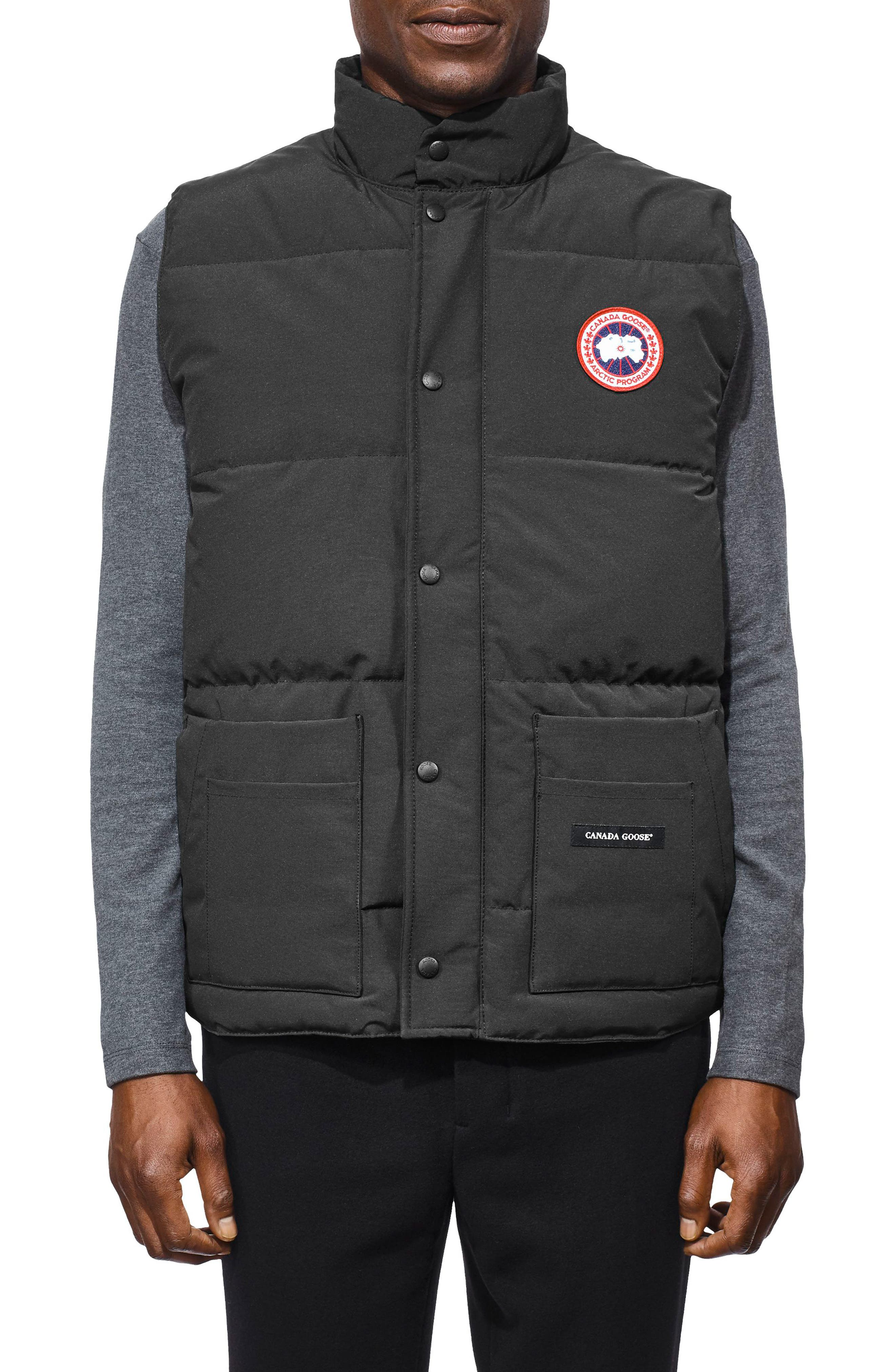 Canada Goose Freestyle Regular Fit Down Vest, Grey