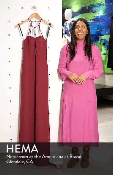 Strappy Detail Chiffon Evening Dress, sales video thumbnail