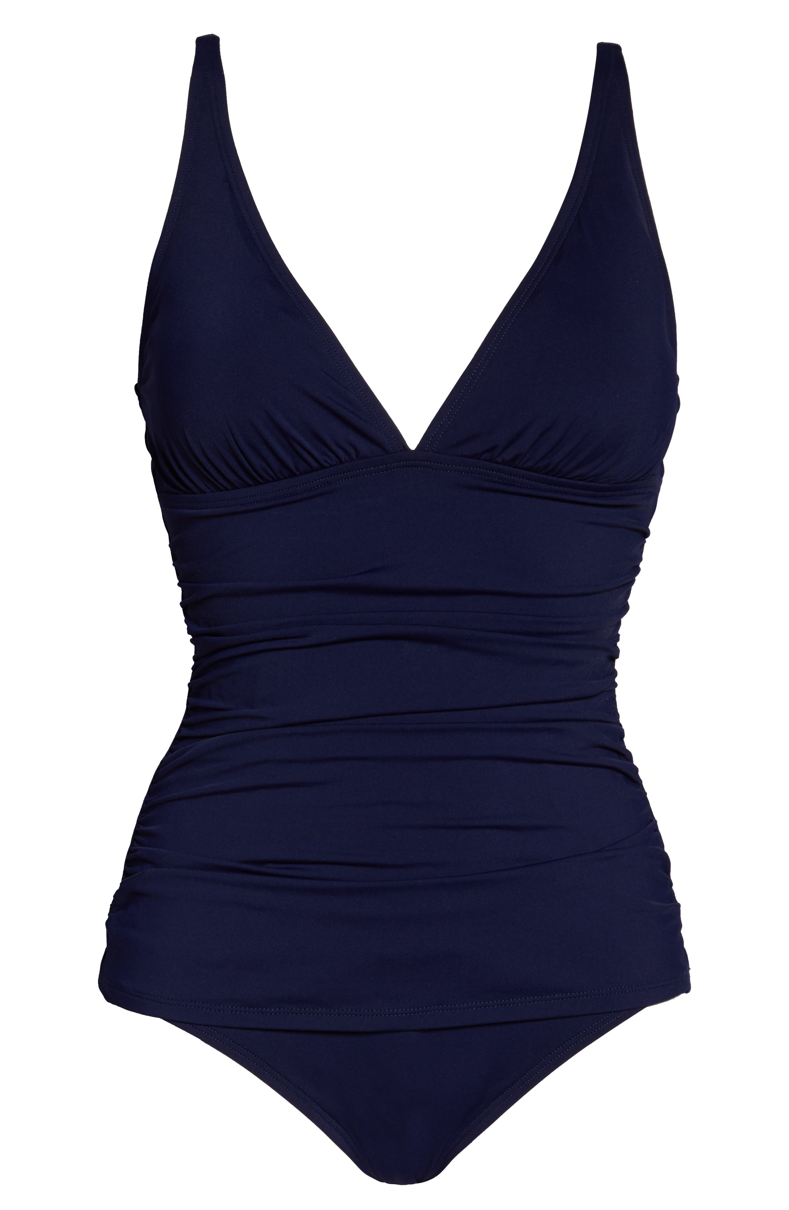 ,                             Pearl One-Piece Swimsuit,                             Alternate thumbnail 7, color,                             MARE