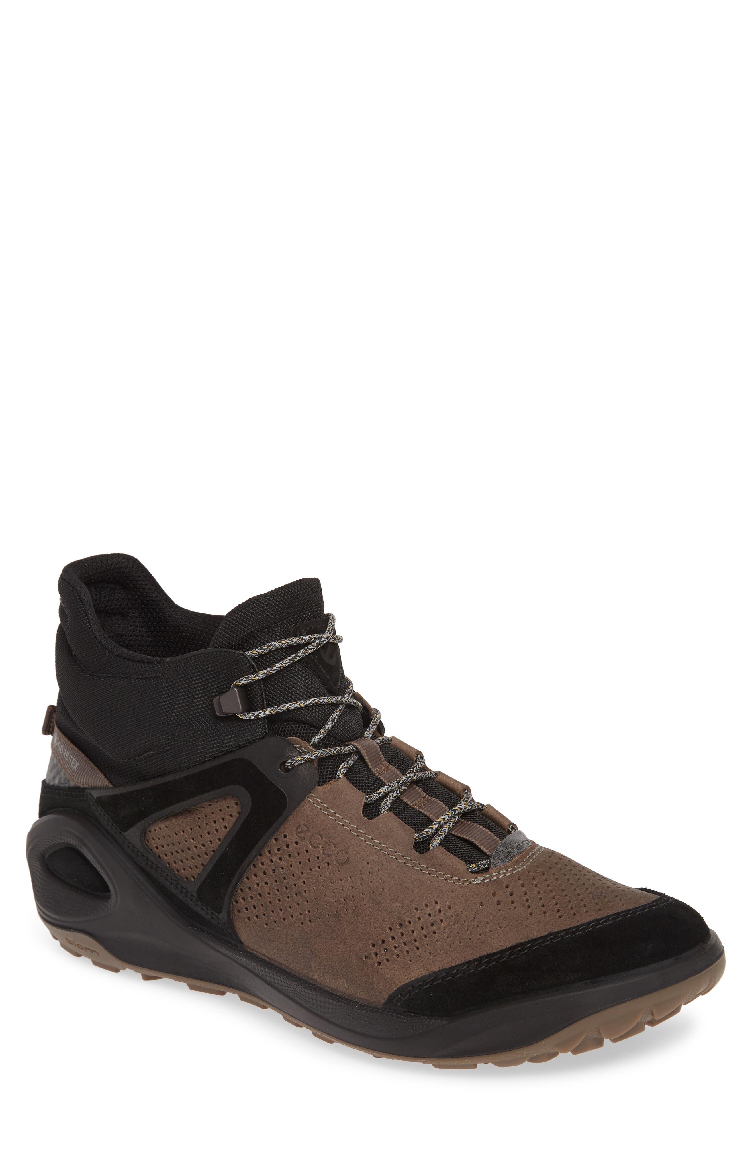 Ecco Biom 2Go Waterproof Ankle Boot,8.5 - Brown