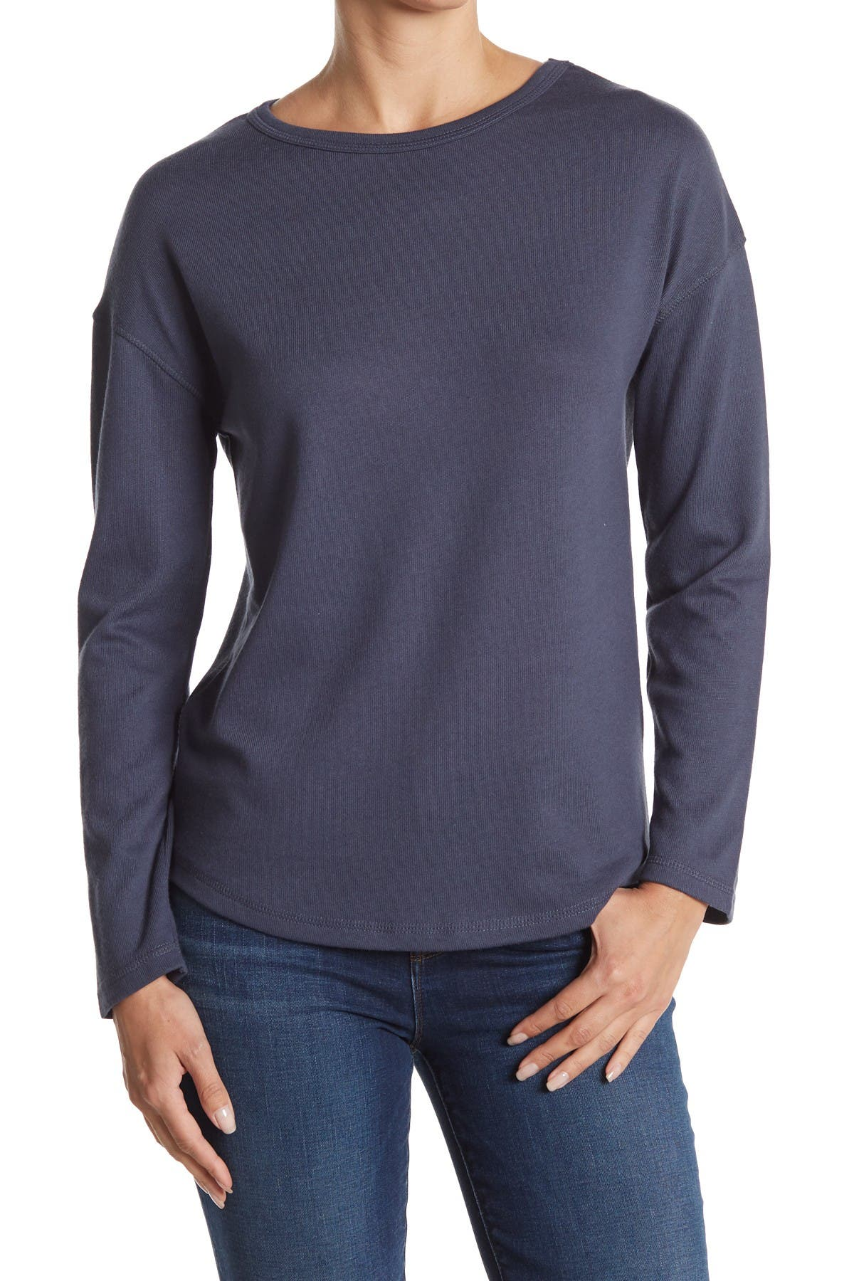Image of Alternative Drop Shoulder Lounge Pullover