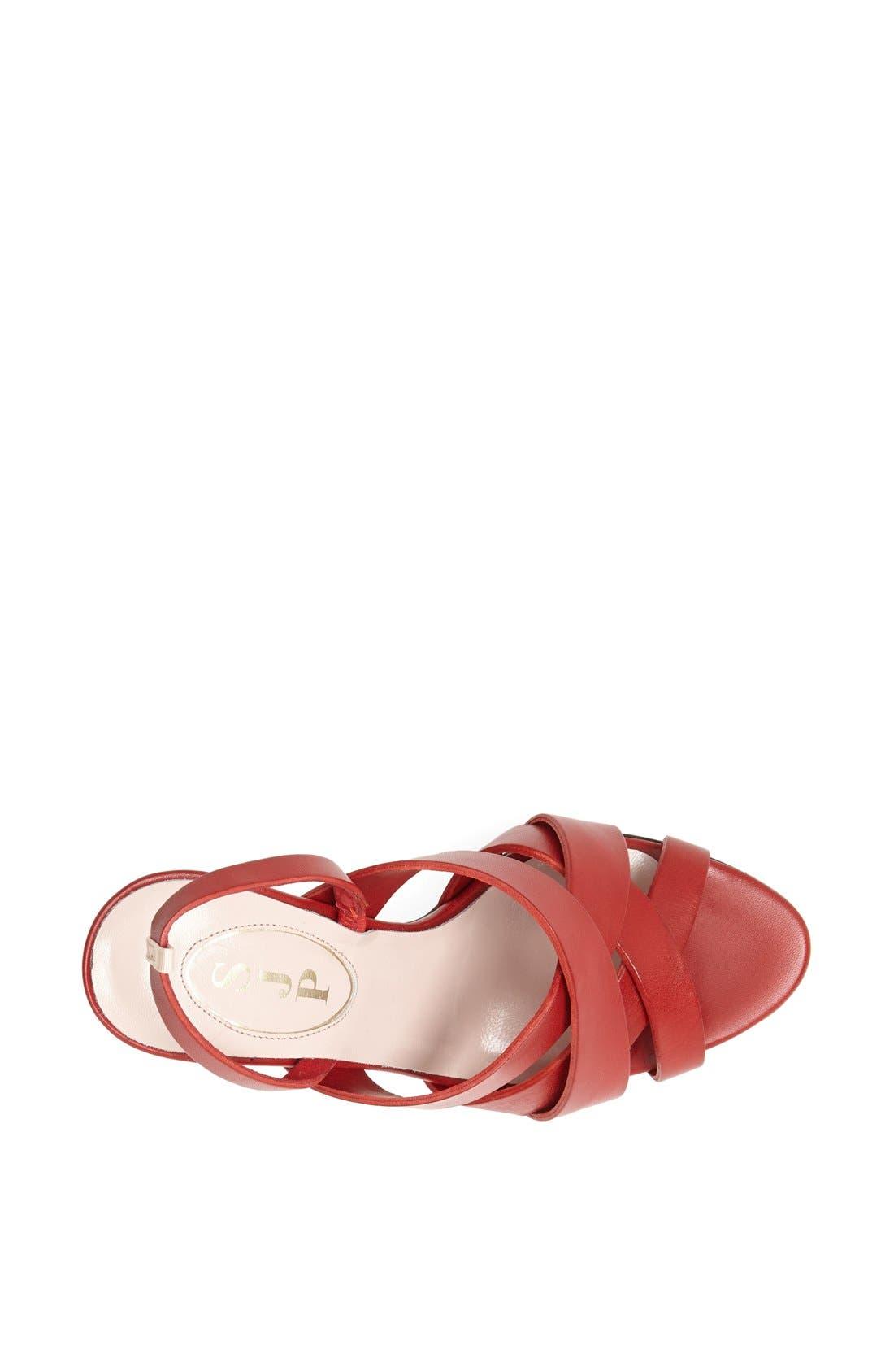 ,                             SJP 'Stella' Sandal,                             Alternate thumbnail 4, color,                             610