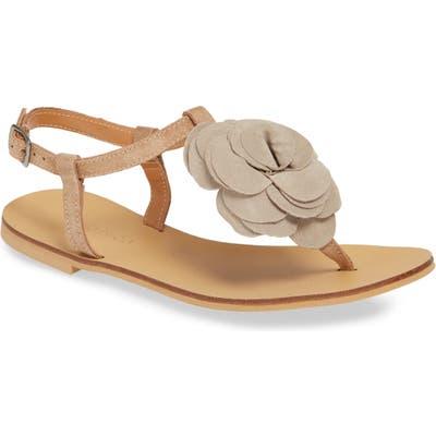 Klub Nico Evie Floral Sandal, White