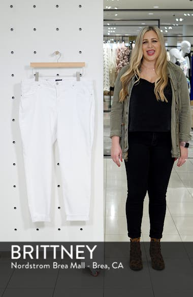 Ami High Waist Ankle Skinny Jeans, sales video thumbnail