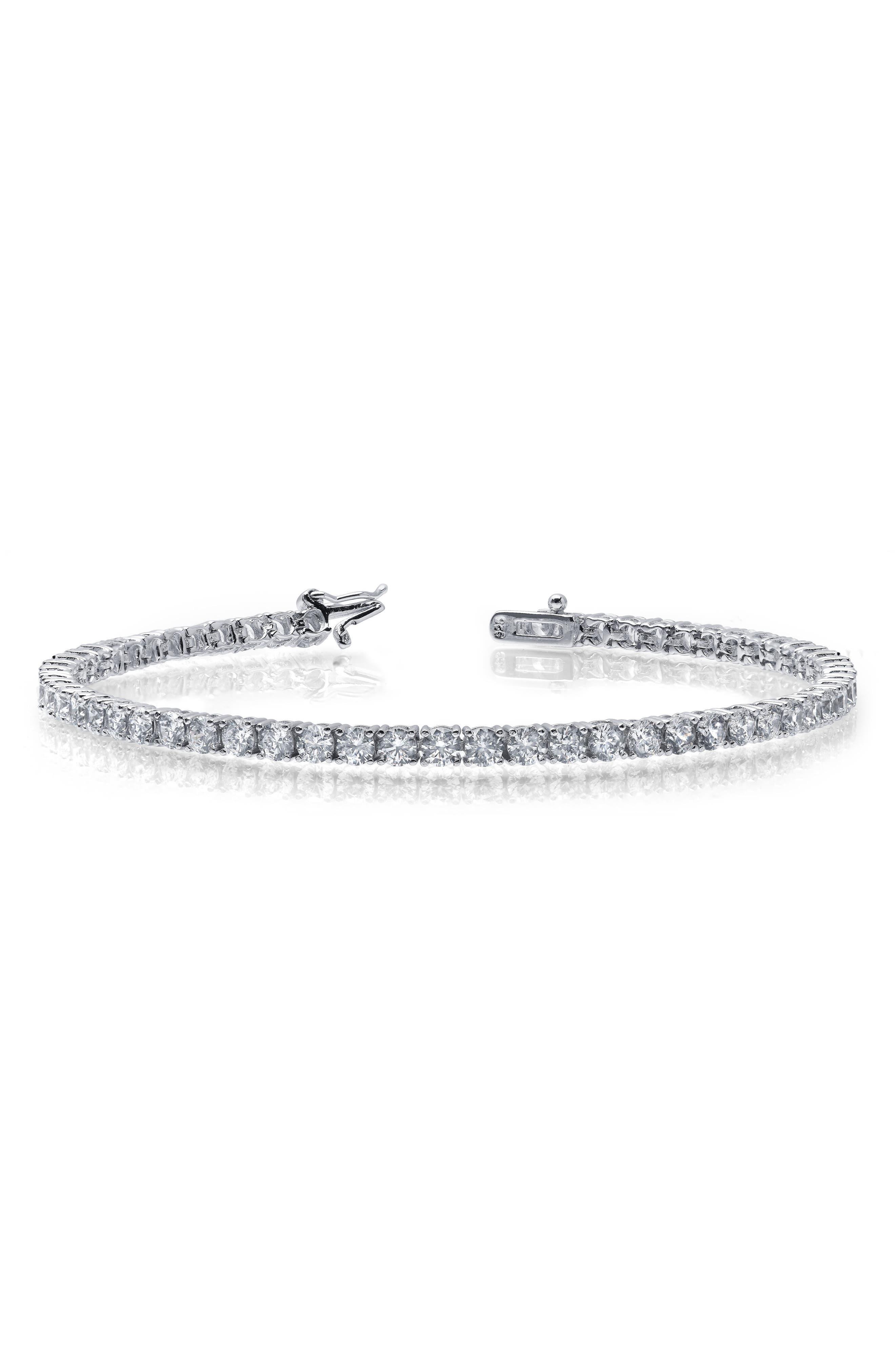 Simulated Diamond Bracelet
