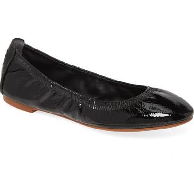 Tory Burch Eddie Ballet Flat, Black