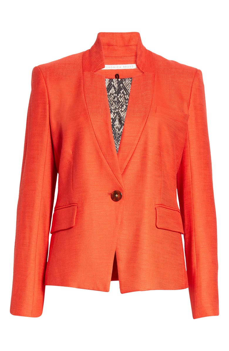 VERONICA BEARD Farley Dickey Jacket, Main, color, RED