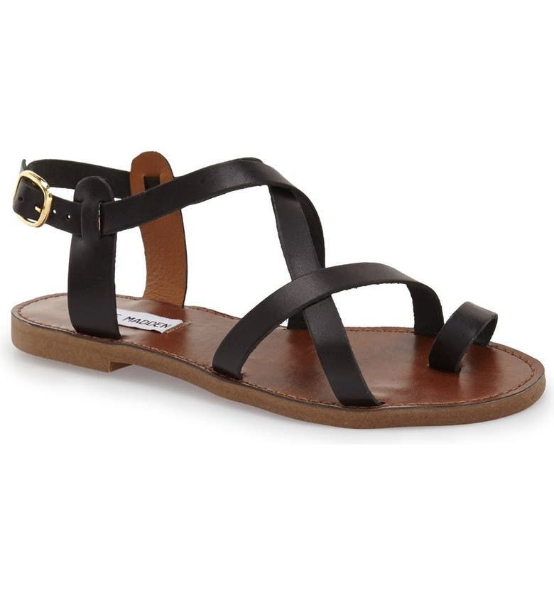 3910b9771f5 'Agathist' Leather Ankle Strap Sandal