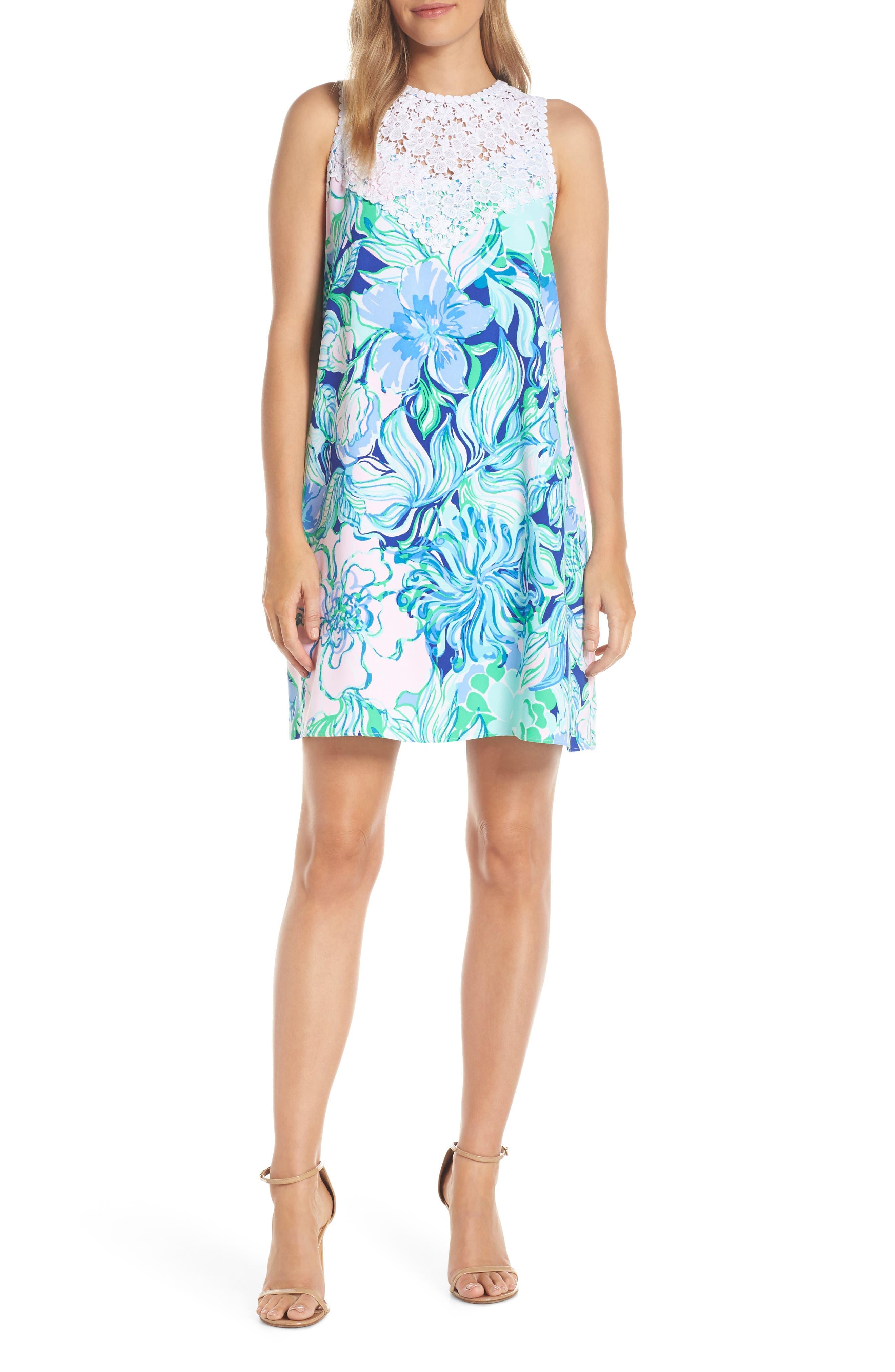 Lilly Pulitzer Nala Soft Shift Dress, Blue